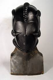 leather mask bob basset s lair hugger leather mask