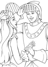 barbie princess ken knight colouring happy colouring