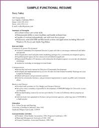Sample Functional Resume Pdf by Resume Template Pdf Designproposalexample Com