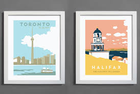 young canadian launches dream career designing posters for