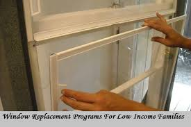 window replacement programs for low income families apply for grants