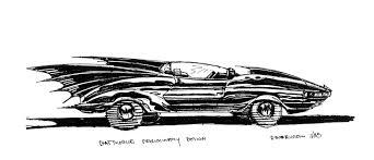 batman car drawing batman 1989 batmobile concept 2 the movie blog