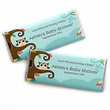 candy bar baby shower owl look whooo s a baby personalized baby shower candy
