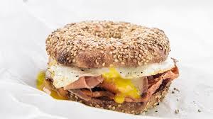 Seeking Bagel Curtis S Brekky Bagel Sandwich Recipe
