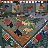 Northwoods Crib Bedding Patch Magic Shadow Riders 6 Crib Bedding Set