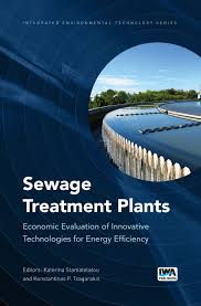 sewage treatment water and wastewater books and publications on