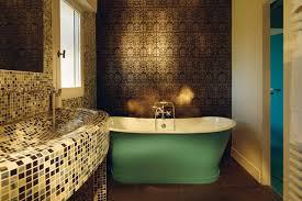 bathroom feature wall ideas wallpaper feature wall ideas bathroom walls houseandgardencouk garden
