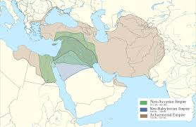 Babylonian Empire Map Empires Of The Ancient Near East Overlapped With Modern Borders