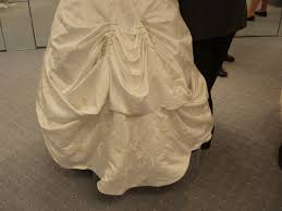 wedding dress bustle bustle a wedding gown the wedding specialiststhe wedding specialists