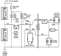 curt trailer ke controller wiring diagram 4 pole trailer wiring