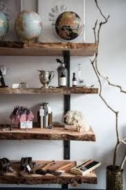 Thick Wood Floating Shelves by Natural Wood Floating Shelves Foter