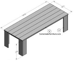 Construction Plans For A Wooden Bench by Scaffolding Wood And Tubes For Furniture Free Plans And