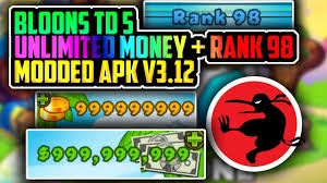 btd5 hacked apk btd 5 hack v3 12 rank 98 unlimited gold and modded apk