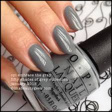 opi embrace the gray fifty shades of grey collection january