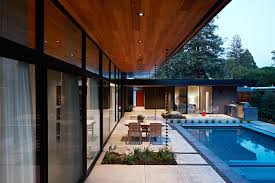 glass walls glass wall house custom design meets eichler inspired modern flair