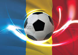 Flag Romania Romania Flag With Soccer Ball Vector Image 1741095 Stockunlimited