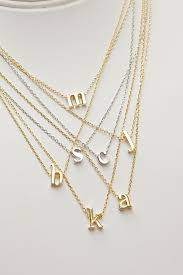 necklaces with initials alphabet necklaces letters necklace initial necklaces