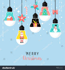 modern christmas card flat stylish design stock vector 492522019
