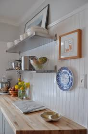 decor u0026 tips updated kitchen design with floating shelves and