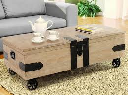 lift top trunk coffee table casual elements utility trunk coffee table with lift top reviews