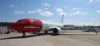 tour norwegian air u0027s brand new boeing 737 max 8