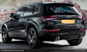 Audi Q5 Body Kit - kahn design builds q5 tdi wide track fourtitude com