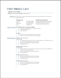 basic resume outlines google resume exles templates top 10 google resume template free 2015