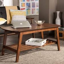 dark walnut coffee table walnut finish coffee console sofa end tables for less