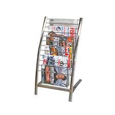 furniture acrylic magazine holder wall mount brochure racks free