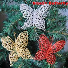 butterfly christmas tree ornaments home design inspirations