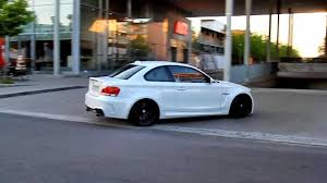 Bmw M1 Coupe Bmw 1er M Coupe Youtube