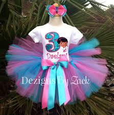 Doc Mcstuffins Costume Doc Mcstuffins Pink Blue Girls Birthday Tutu