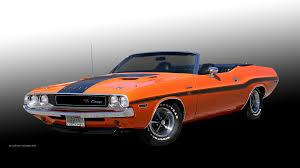 Dodge Challenger Orange - dodge challenger wallpaper 1970 1920 03