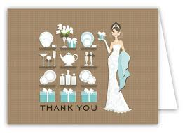 best bridal registries 7 best bridal shower thank you cards images on