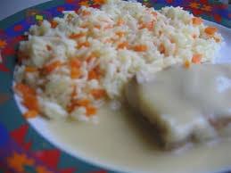 cuisiner du colin surgelé et riz