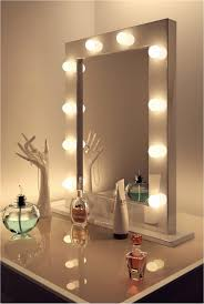 vanity mirror with led lights top 71 outstanding led light up mirror beauty vanity with bulbs