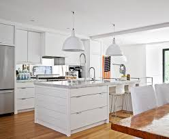 stunning white t shaped kitchen island white marble countertop