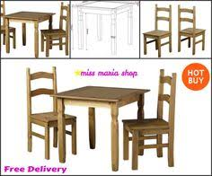 Small Pine Dining Table Small Dining Table Set Chairs Furniture Black Modern Bistro Glass