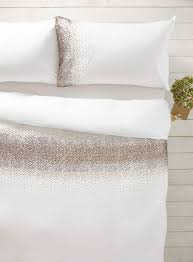 Gold Ombre Sequin Bedding Set BHS Comforters Bedspreads - White bedroom furniture bhs