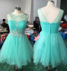 compare prices on crystal cocktail dresses knee length online
