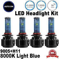 Ebay Led Lights Led Combo Led Headlight 2pair High U0026 Low Beam H11 9005 8000k