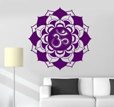 Lotus Flower Wall Decal Om by Our Vinyl Stickers Are Unique And One Of A Kind Every Sticker We