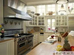 modern middle size kitchen remodel ideas retro almost provence or vintage kitchen with lots of stuff and furniture looks harmonious