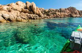 italy kayaking tours kayak wild sardinia trips