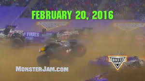 monster truck show 2016 monster jam 2016 new orleans youtube