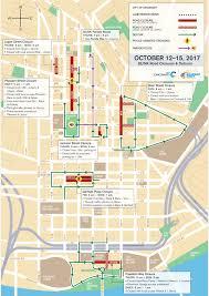 Map Of Cincinnati Downtown Road Closures For Blink Light Festival Start Thursday