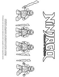 ninjago u2013 zane cole kai jay kx ninjas coloring u0026