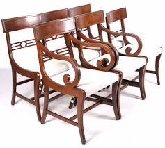 mahogany dining room chair circa 1930 1940