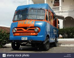 pizza delivery truck fast food stock photos u0026 pizza delivery truck