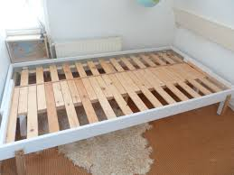 ikea tarva bed hack bedding practical delights basic ikea bed to pull out rykene p10